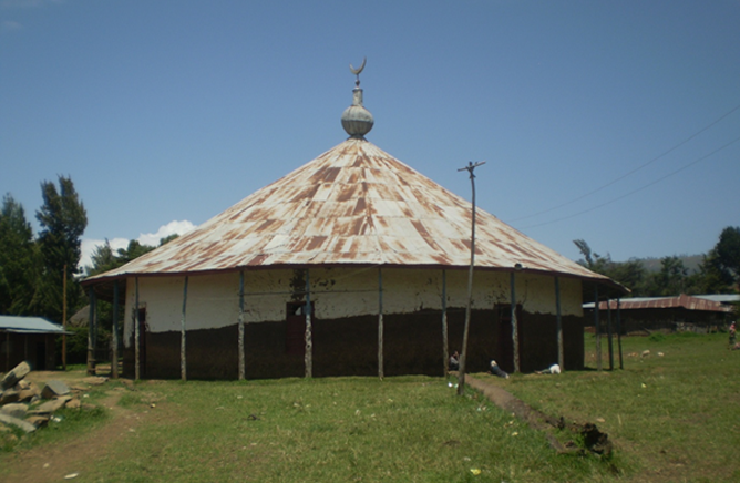 Alkeso Mosque in Silte Zone